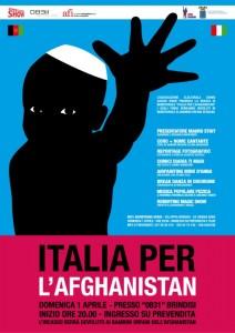 L'Italia per l'Afghanistan – 1° Aprile - Brindisi