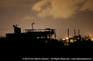 avamposto israeliano lungo la Blue Line